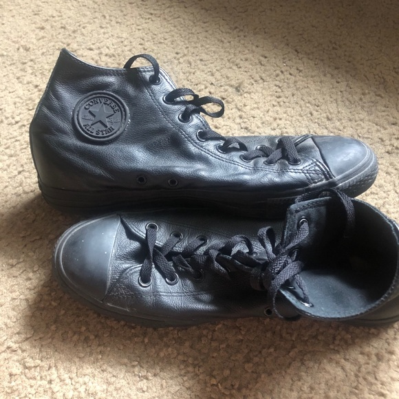 Converse Leather All Star Hightops